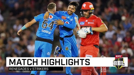 Strikers grab top spot as Rashid puts 'Gades in a spin