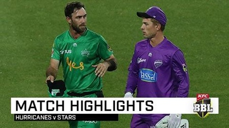 Stars top Hurricanes in action-packed rain-hit clash