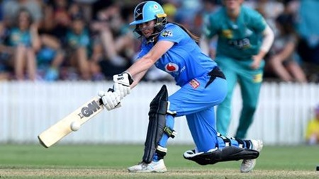 Maiden WBBL half-century for Wellington