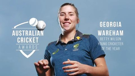 Betty Wilson Young Cricketer: Georgia Wareham