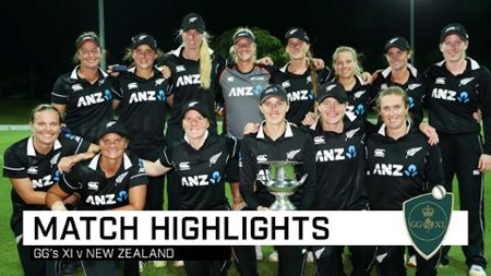 New Zealand seal big GG's XI victory
