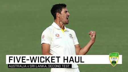 Starc breaks through with five-fer