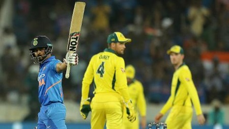 Jadhav, Dhoni guide India to victory