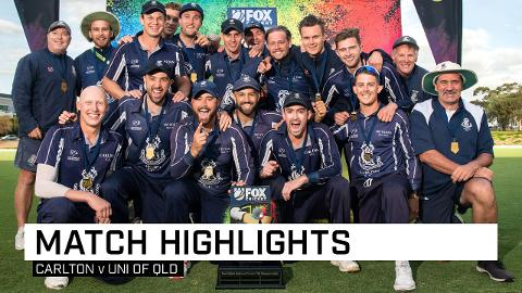 Carlton claim inaugural Fox Cricket T20 Champs