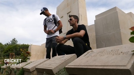 Cummins, Aussies reflect at Gallipoli