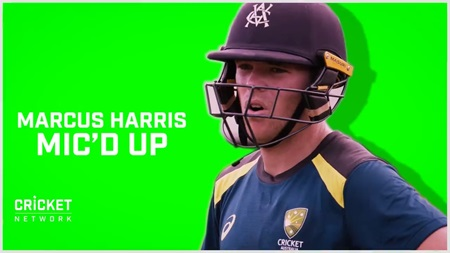 Mic'd up with Australia A's Marcus Harris