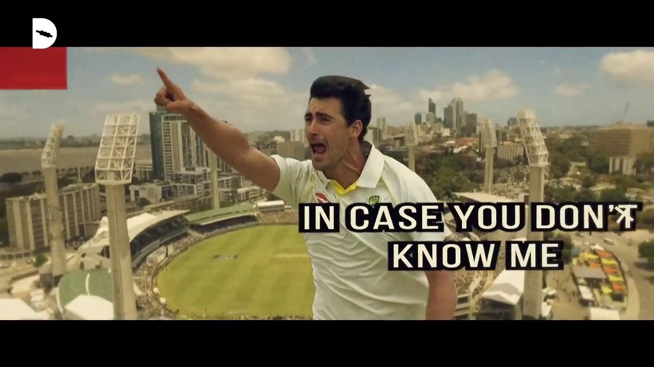 Mitchell Starc: In case you don't know me