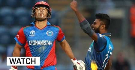 Sri Lanka escape with win over Afghans