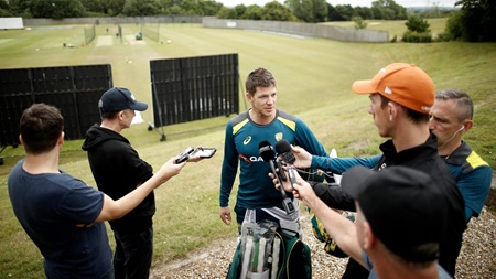 Paine looks ahead to vital Ashes warm-up
