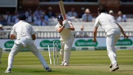 England routed by Ireland seamers at Lord's