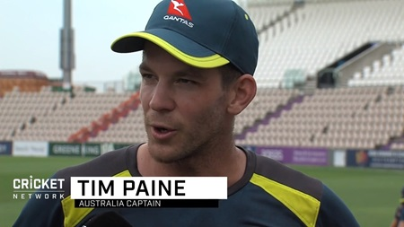 Paine moves attention to first Ashes Test