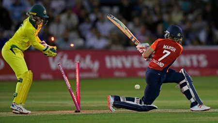 Australia secure Ashes win with dominant T20 display