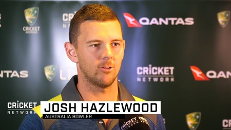 Hazlewood happy to share the load with fellow quicks