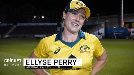 Perry ready to celebrate after dominant Ashes series