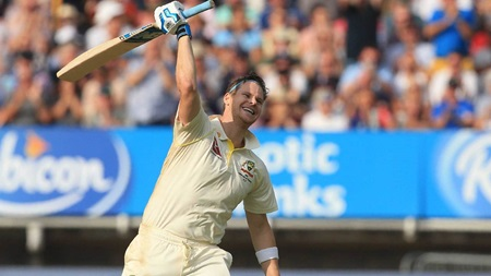 Smith marks Test comeback with brilliant century