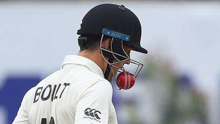 Boult left confused following unusual incident