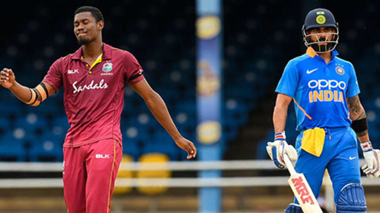 Windies rue Kohli let-off after Gayle blazes away