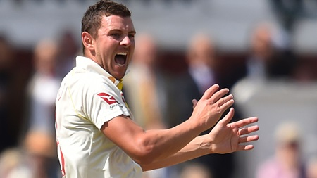 Hazlewood reflects on 'fun' return, backs Bancroft