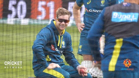 Smith seen at Australia training as Paine ponders XI