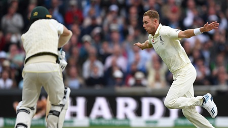 Broad bowls 'one of his best' deliveries as Aussies lose 3-3