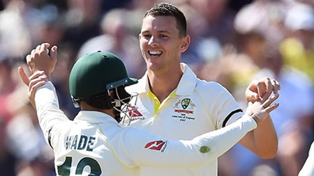 Hazlewood celebrates stunning haul, reflects on 2015 series