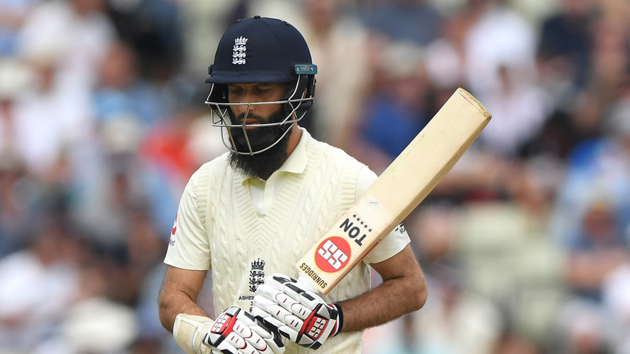 Lyon's hold over Moeen continues in Ashes opener