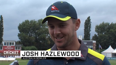 Hazlewood wants to carry momentum to Manchester