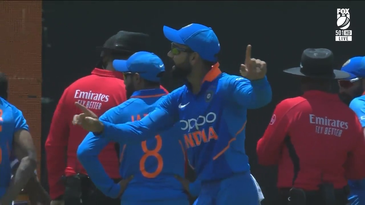 Virat dances the blues away in washed out ODI