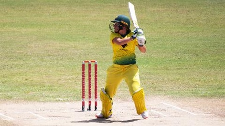 Healy's run of form continues with a fourth straight ODI fifty