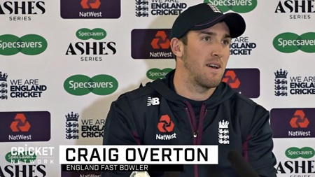 Overton returns in 'frustrating' bowling conditions