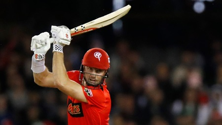 Marsh makes most of batting promotion