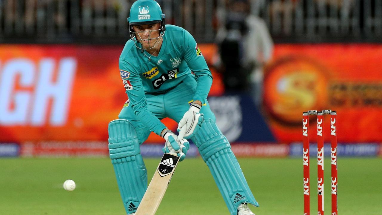 Banton signs off from Heat stint with fine knock