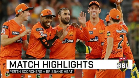Marsh lights up Perth Stadium as Scorchers sizzle