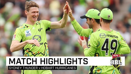 Thunder halt BBL losing run with vital victory