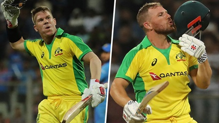 Finch, Warner post unbeaten tons in record stand