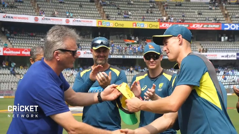 This-is-special-Steve-Waugh-presents-Labuschagne-his-ODI-cap-still