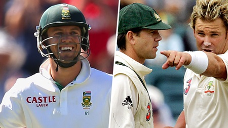 AB de Villiers rates his biggest Aussie rivals