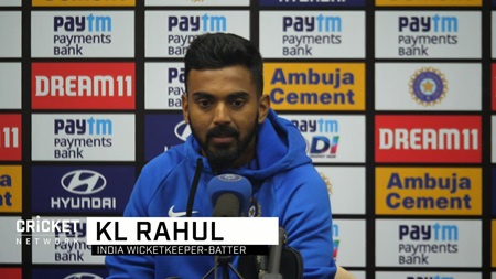 Rahul reacts to new role with gloves and in the middle order