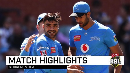 Strikers dampen Heat with monster 10-wicket win