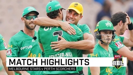 Never-say-die Stars topple the Scorchers