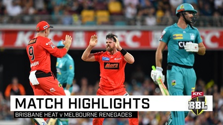 Heat's shocking collapse hands Renegades upset win