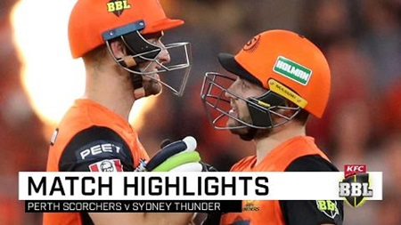 Perth punish sluggish Thunder with whirlwind opening stand