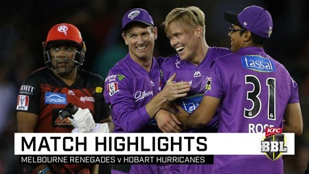 Hurricanes stay alive with triumph in see-saw BBL thriller