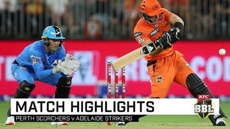 Adelaide out-class Scorchers despite Livingstone's six-frenzy