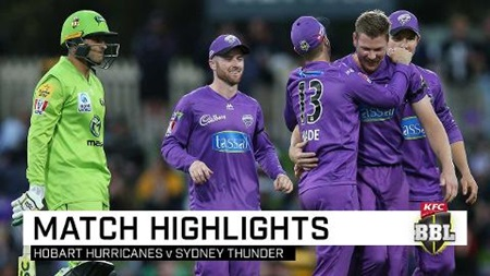 Hobart leap above Thunder afer big Blundstone win