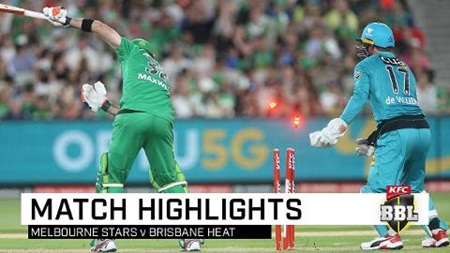 De Villiers heats up for Brisbane as Stars go cold