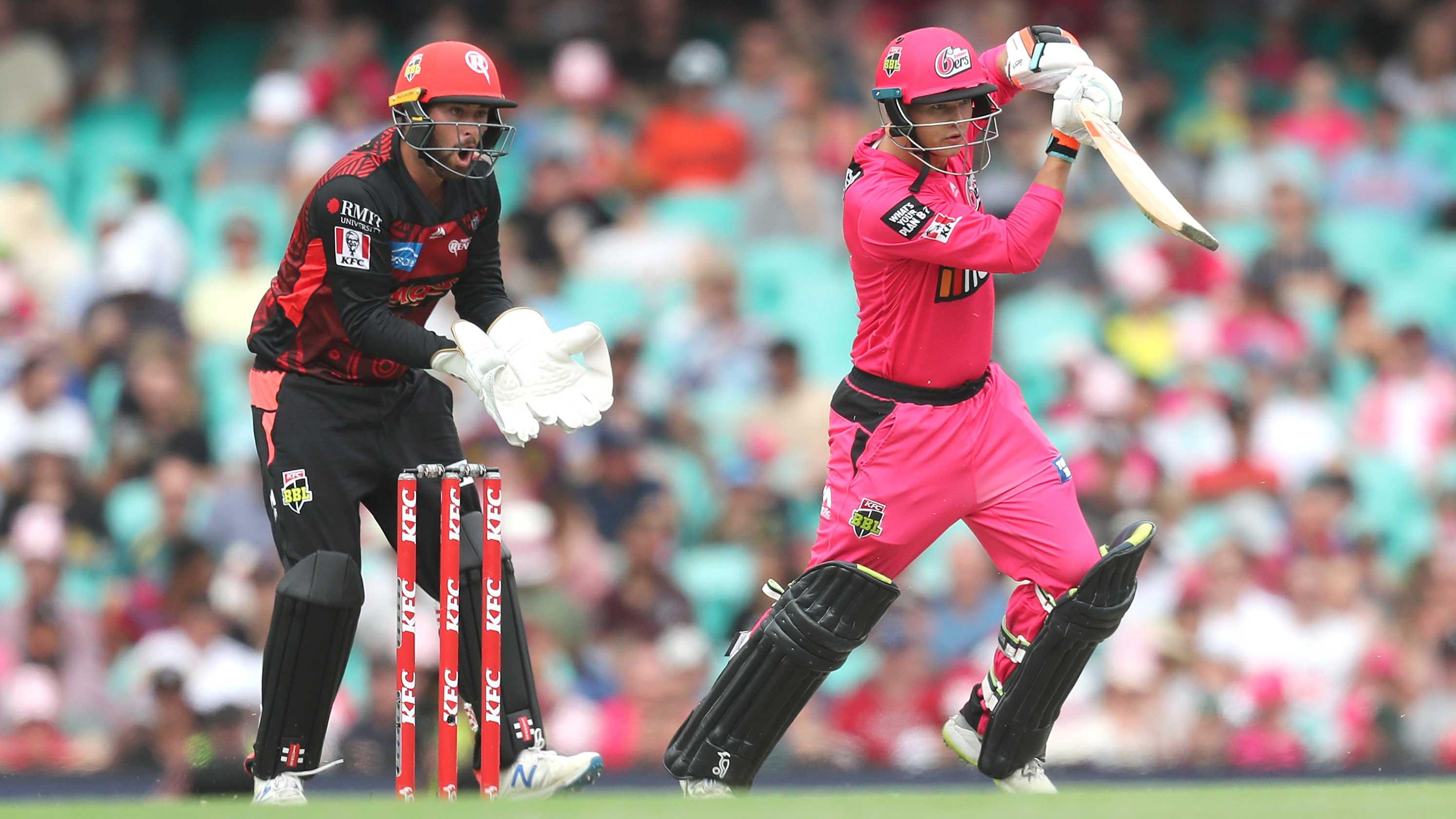 Philippe punches out fourth fifty of BBL|09