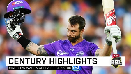 Wonder Wade annihilates Strikers in maiden BBL ton