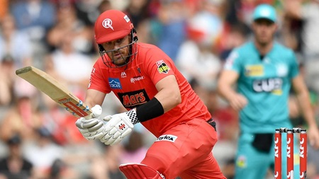 Finch flies to end Renegades season on a high