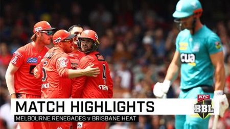 Ruthless Renegades crush Heat's finals hopes